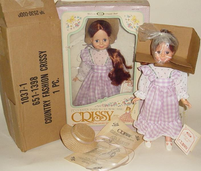 Crissy in 1982