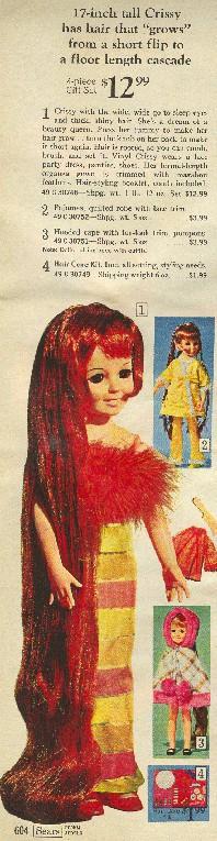 Crissy in 1969