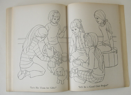 in the story crissy is watching from her window when the new family moves into the neighborhood after crissy introduces herself to velvet and her family - Velvet Coloring Book